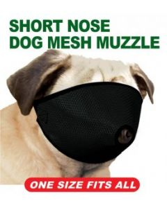 Proguard Muzzle Short Nose (Pug) One Size Fits All