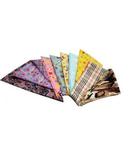 Bandanas Hemmed (72 Pack) - XS Size Only