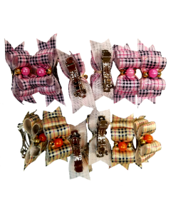 Fancy Bows with clip (Burberry)