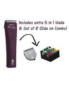 Bravura with FREE 5 in 1 and Set of 8 Slide on Comb