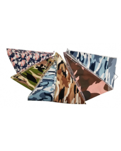 "BANDANAS HEMMED (12 PACK) - 2XL SIZE ONLY (35"")"