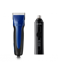 Andis Excel 5 Speed Clipper Special (with free nail grinder)
