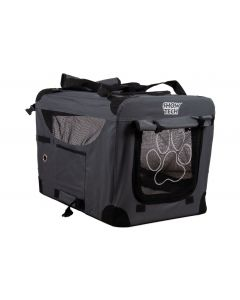 Show Tech Easy Crate Grey x Black - Traveling Crate