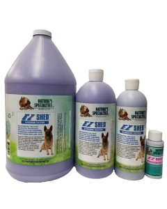 Nature's Specialties EZ Shed Use Conditioner as desired or dilute 24:1