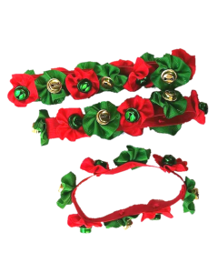 Jingle Bell Christmas Collars - 12 pack