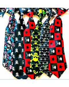 Silk Neckties - Large - Halloween