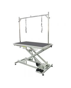Low-Low Electric Lifting Table with Foot Control - With Free Non Slip Mat