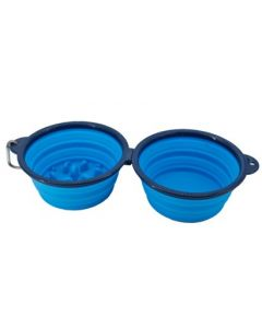 Wahl - mybuddy Collapsible Travel Double Bowl