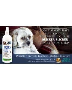 Nature's Specialties Quicker Slicker Conditioner Spray Ready