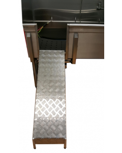 Stainless Steel Ramp for Tubs
