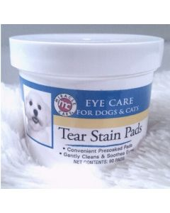Miracle Tear Stain Pads - Eye care  (90 pads) - For Dogs & Cats