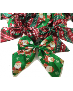 Silk Butterfly Bows - Christmas